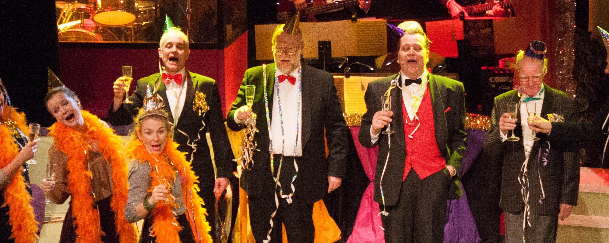 Nyårsrevyn Tilltrasslat Globenteatern Teaterns Hus i Linköping